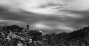 オーストラリアの岩場